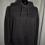 Hoodies are available in a variety of colours (front view)