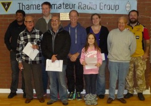 Nine New Amateurs - Congratulations Everyone