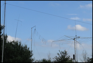 Photo of antennas