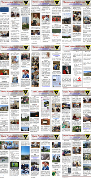 Collage of Newsletters